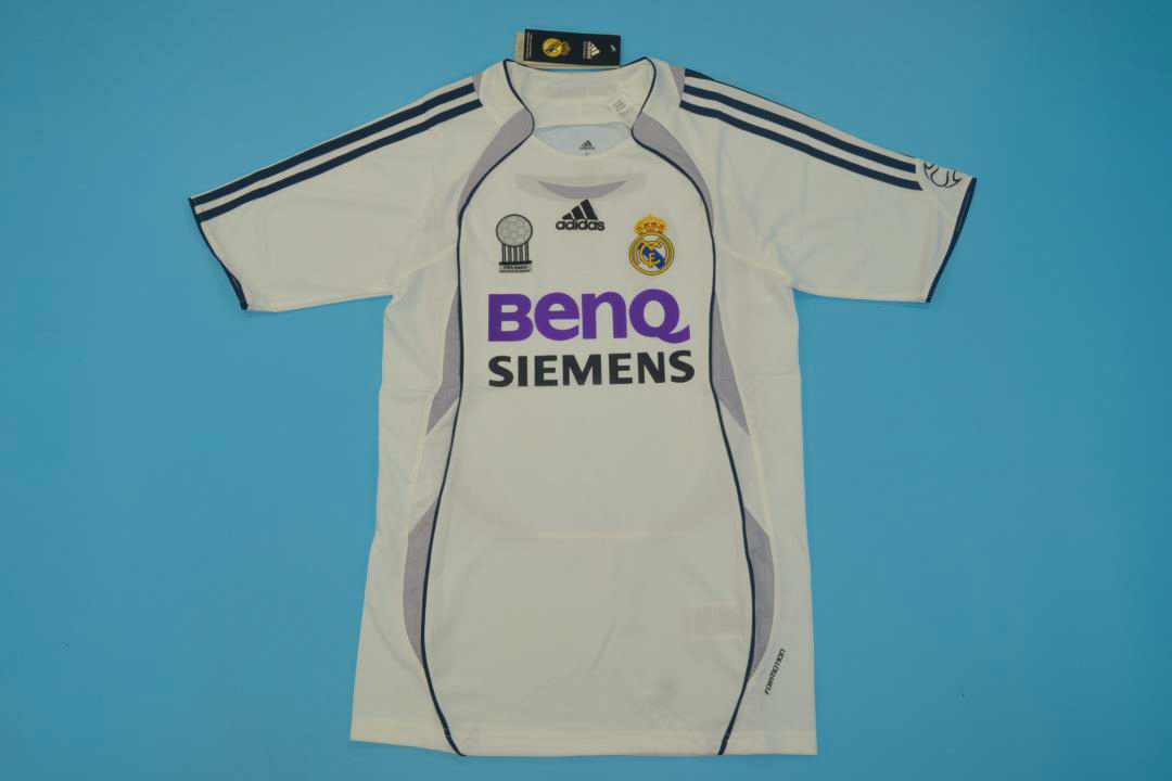 new style 78f71 1ae64 Real Madrid 2006-2007 Short Sleeve