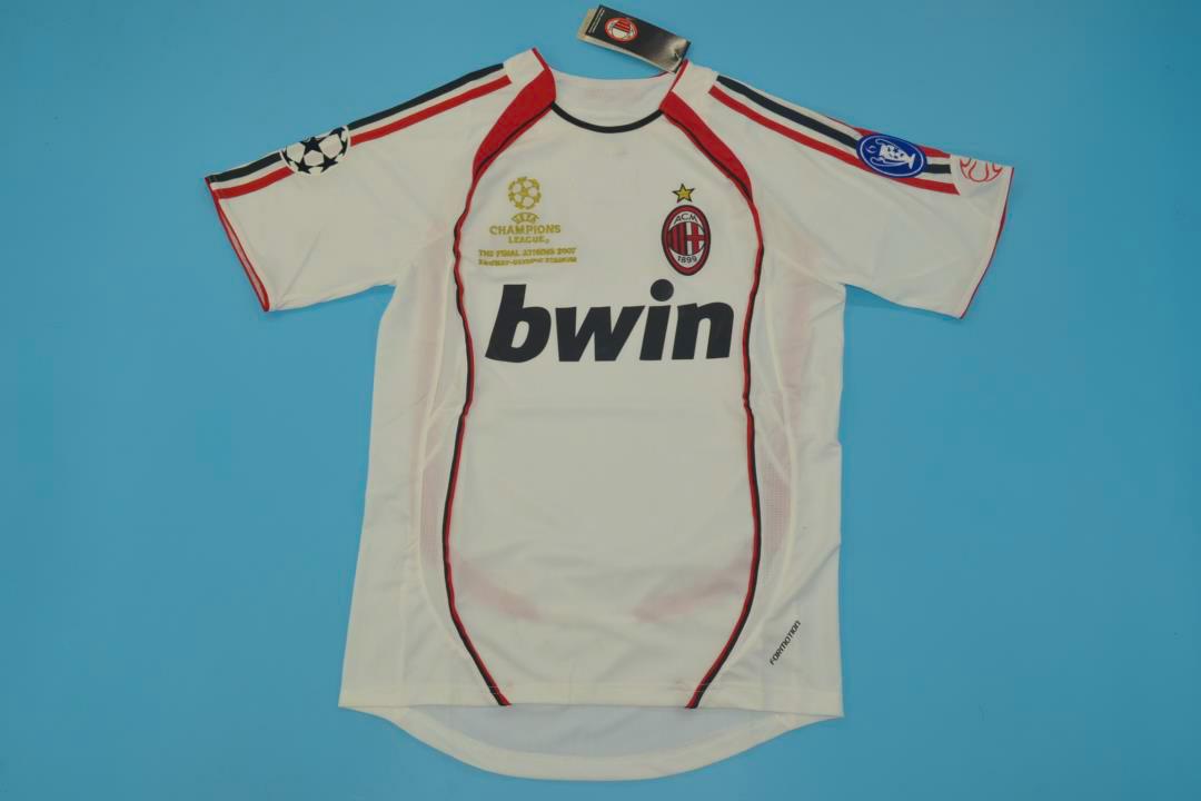 Ac Milan 2006 2007 Ucl Final Away Short S Kit Free Shipping