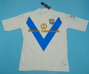 Shirt Front, Brescia 2003-2004 Away Baggio Retirement Short-Sleeve