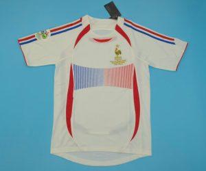 Shirt Front, France 2006 Away World Cup Final