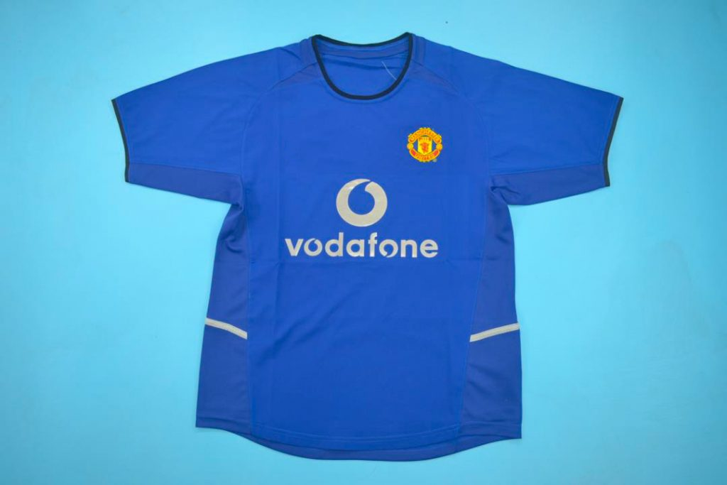 Manchester United 2002 03 Third Retro Jersey Free Shipping