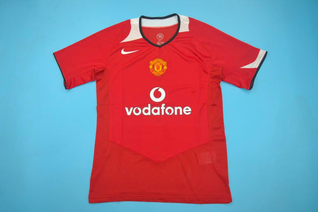 super popular ce7da 8d672 Manchester United 2005-2006 Short Sleeve