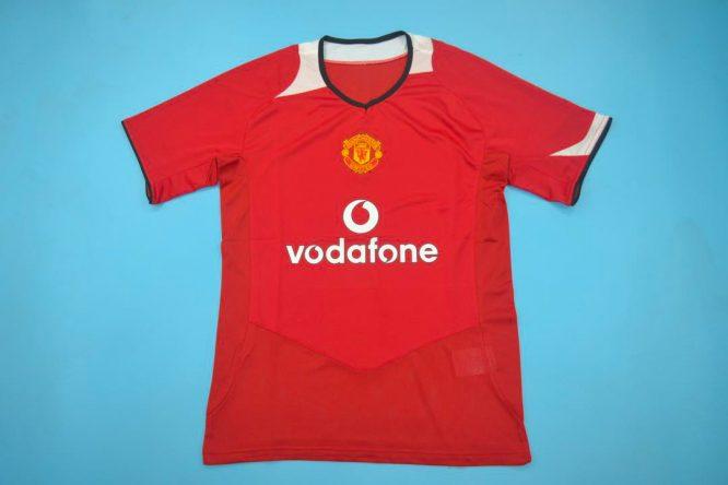 Front Shirt, Manchester United 2005-2006 Short-Sleeve