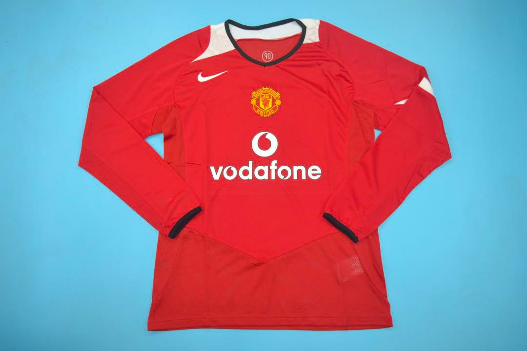 wholesale dealer d124e bad0c Manchester United 2005-2006 Long-Sleeve