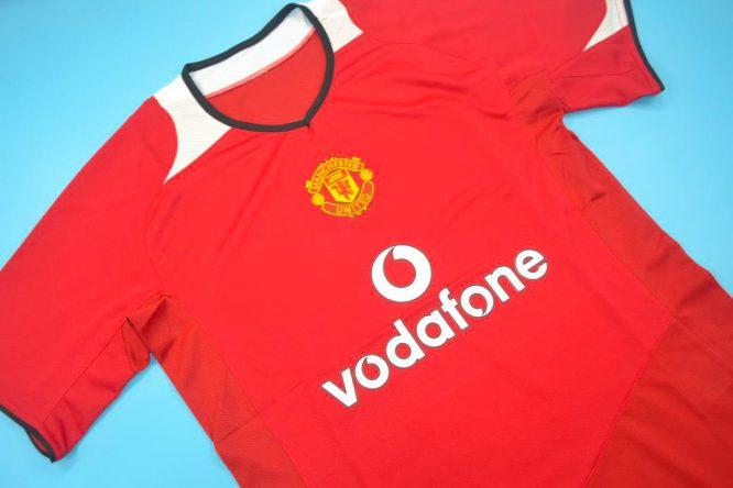 Alternate Front Shirt, Manchester United 2005-2006 Short-Sleeve