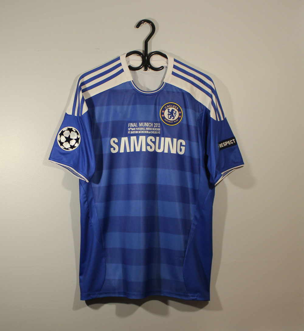 Chelsea 2011-2012 Short-Sl. CL Final Shirt [Free Shipping]