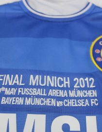Shirt Munich Final Embroidery, Chelsea 2011-12 Champions League Final