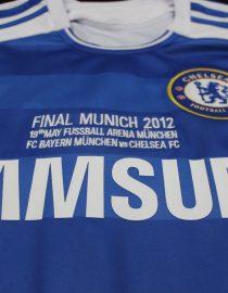 Shirt Front Closeup, Chelsea 2011-12 Champions League Final