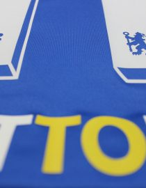 Nameset Closeup, Chelsea 2011-12 Champions League Final