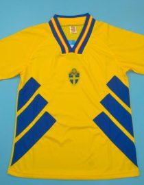 Jersey Front, Sweden 1994 Home Short-Sleeve
