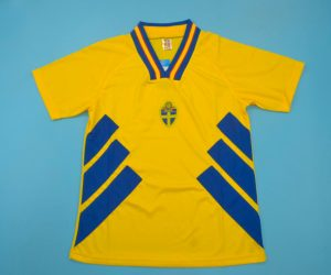 Jersey Front, Sweden 1994 Home Short-Sleeve