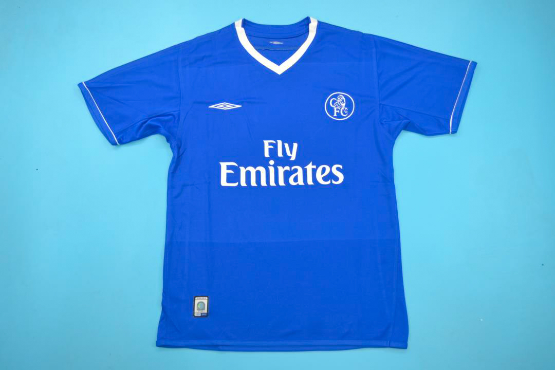 hot sale online 2d05e 30cdd Chelsea 2003-2005 Short Sleeve