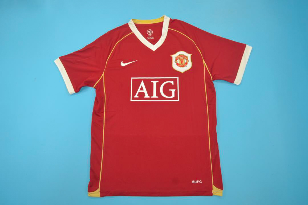 the latest 0e2ff 2fdc9 Manchester United 2006-2007 Short Sleeve