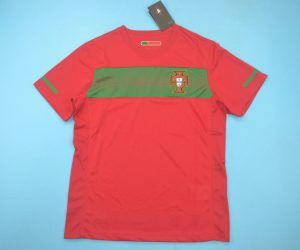 Shirt Front, Portugal 2010 Home Short-Sleeve