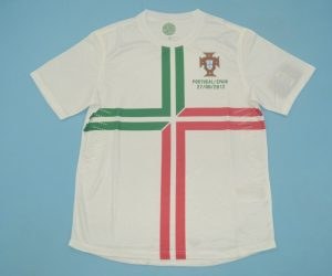 Shirt Front, Portugal 2012 Away Short-Sleeve