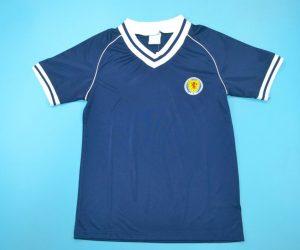 Shirt Front, Scotland 1982 Home