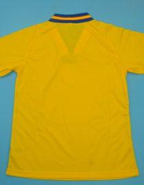Shirt Back Blank, Sweden 1994 Home Short-Sleeve