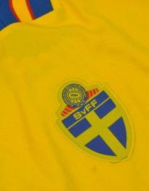 Jersey Front Alternate, Sweden 1994 Home Short-Sleeve