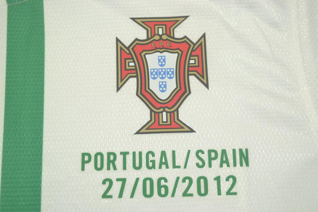 Portugal Euro 2012 Away Short Sleeve Football Shirt [As worn by Pepe, Quaresma & Ronaldo]