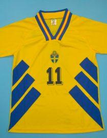 Brolin Nameset Front, Sweden 1994 Home Short-Sleeve