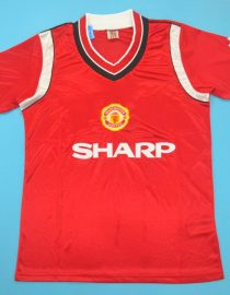 4a31ceab368 Manchester United 1984-1986 Vintage Jersey  Free Shipping