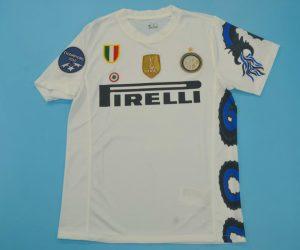 Shirt Front, Inter Milan 2010-2011 Away Dragon Short-Sleeve