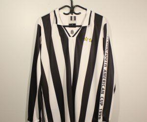 Shirt Front, Juventus 1996 Intercontinental Cup Long-Sleeve