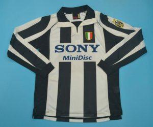Shirt Front, Juventus 1997-1998 Home Long-Sleeve