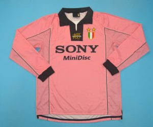Shirt Front, Juventus 1997-1998 Third Long-Sleeve