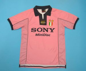 Shirt Front, Juventus 1997-1998 Third Short-Sleeve