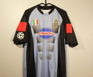 Shirt Front, Juventus 2002-2003 Goalkeeper Buffon Short-Sleeve