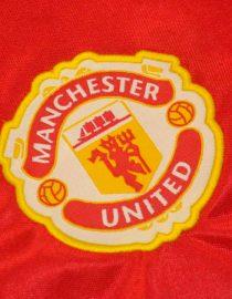Shirt Man Utd Emblem, Manchester United 1984-1986 Home
