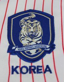 Shirt Korea Logo, South Korea 2002 Away Short-Sleeve