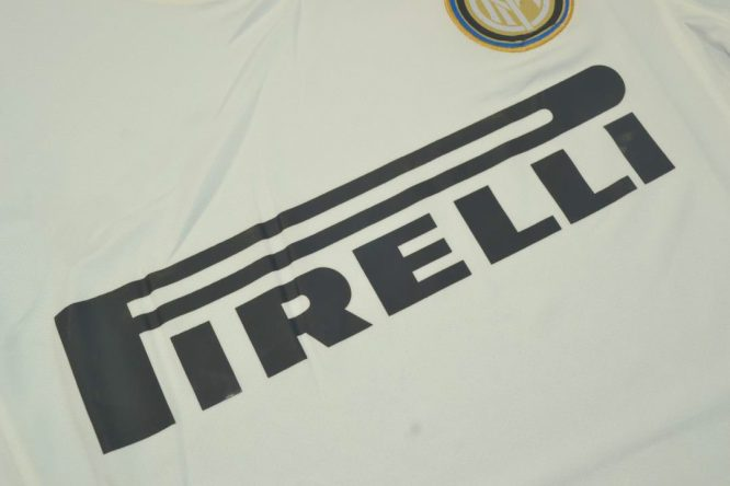 Shirt Pirelli Sign, Inter Milan 2010-2011 Away Dragon Short-Sleeve