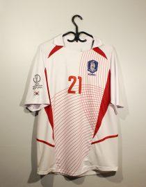Ji-Sung Park Nameset Front, South Korea 2002 Away Short-Sleeve