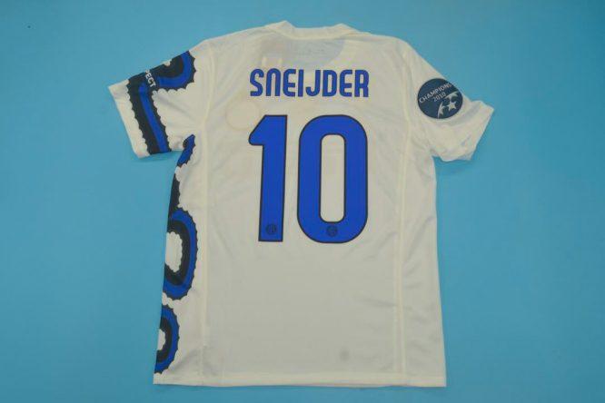Sneijder Nameset, Inter Milan 2010-2011 Away Dragon Short-Sleeve