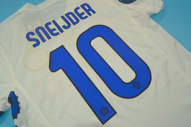 Sneijder Nameset Alternate, Inter Milan 2010-2011 Away Dragon Short-Sleeve