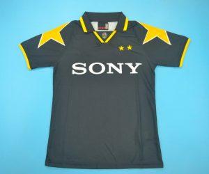 Shirt Front, Juventus 1995-1996 Third Short-Sleeve