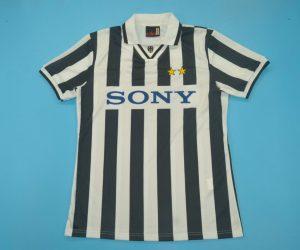 Shirt Front, Juventus 1996-1997 Home Short-Sleeve