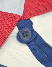 Shirt Collar Closeup, Ajax Amsterdam 1994-1995 Away