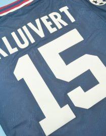 Kluivert Nameset Alternate, Ajax Amsterdam 1994-1995 Away