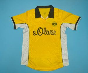 Shirt Front, Borussia Dortmund 1998-2000 Home Short-Sleeve Kit
