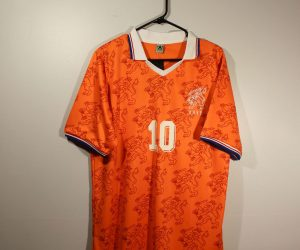 Shirt Front, Netherlands Home 1994 World Cup Short-Sleeve Kit