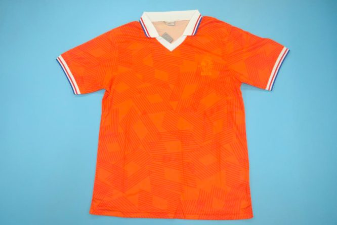 Shirt Front, Netherlands Euro 1992 Home Short-Sleeve