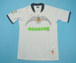 Shirt Front, Valencia 2009-2010 Home Short-Sleeve