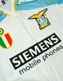 Shirt Front Alternate, Lazio 2000-2001 Home Centenary