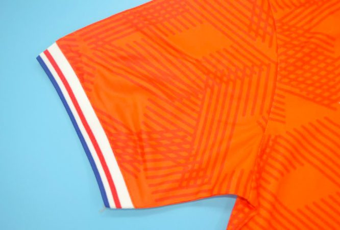 Shirt Sleeve, Netherlands Euro 1992 Home Short-Sleeve