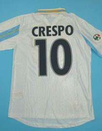 Crespo Nameset, Lazio 2000-2001 Home Centenary