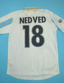 Nedved Nameset, Lazio 2000-2001 Home Centenary