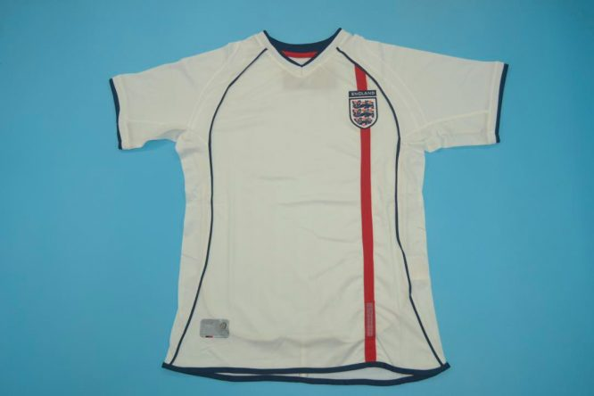 Shirt Front, England 2002 Home Short-Sleeve